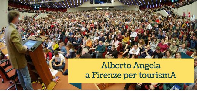 Alberto Angela a Firenze per tourismA
