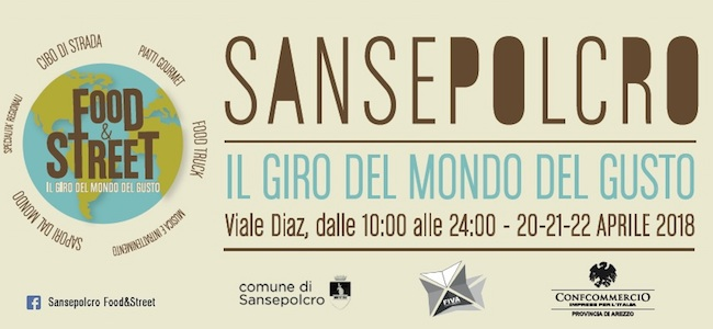 San Sepolcro Street and Food