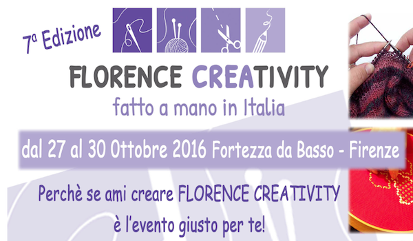 Florence Creativity - autunno 2016