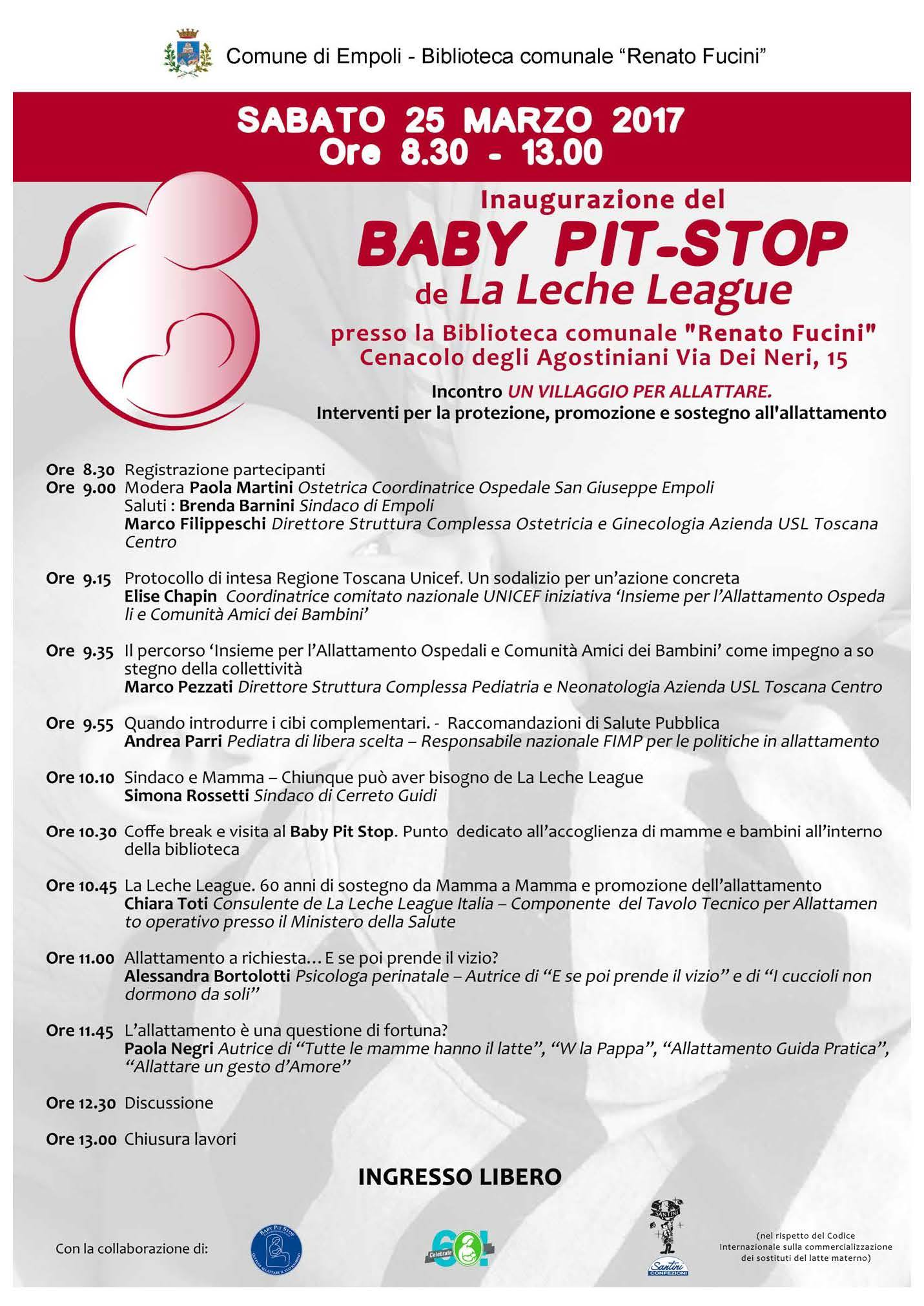 Baby pit-stop