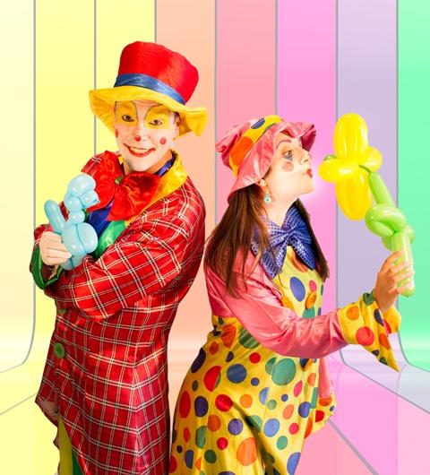 04_Laboratorio palloncini con il Clown Christian
