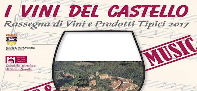 I vini del castello - montefioralle 2017