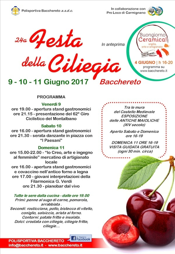 locandina sagra ciliegie bacchereto_www.eventiintoscana.it-min