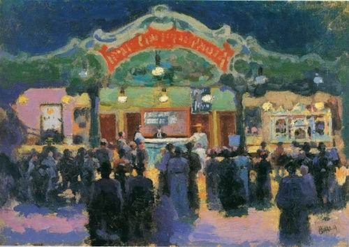 Balla G., Circo Forain, 1900 circa