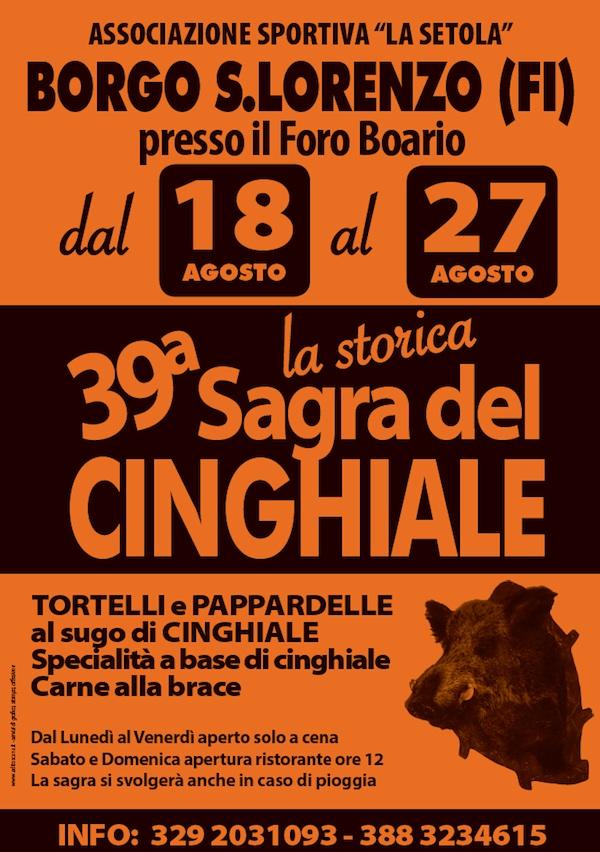 Manifesto La Setola_sagra del cinghiale