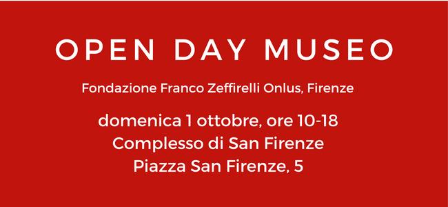 Open Day Museo - Zeffirelli
