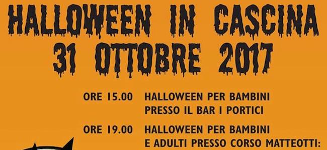 Halloween in Cascina