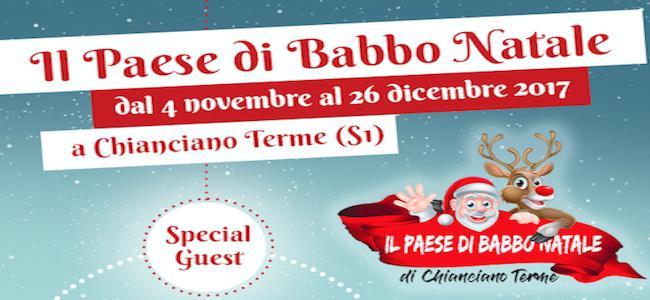 Paese Natale Di Babbo Natale.Il Paese Di Babbo Natale Parco Acqua Santa Chianciano Terme Siena