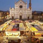 weihnachtsmarkt mercato di natale piazza santa croce firenze
