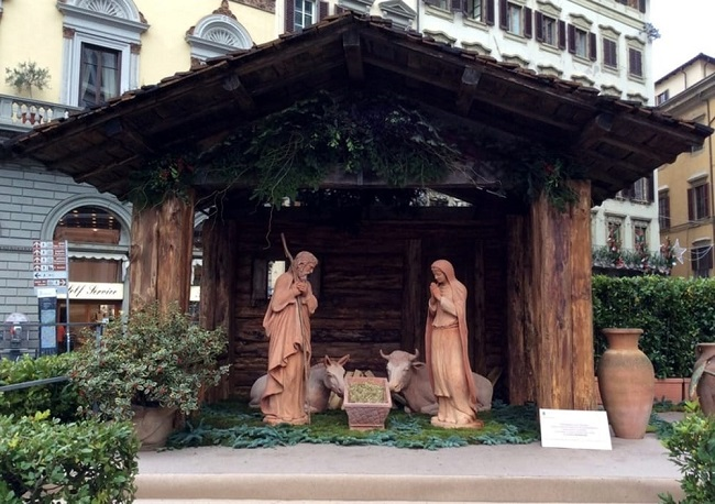 presepe in terracotta firenze