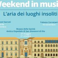 weekend in musica