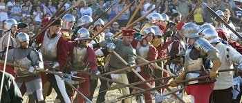festa medievale piazza al serchio