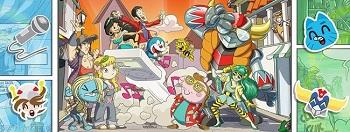 cartoon village manciano