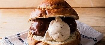 sagra della brioche con gelato