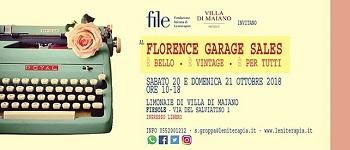 florence garage sales
