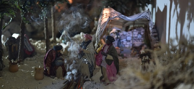 presepe artistico cigoli
