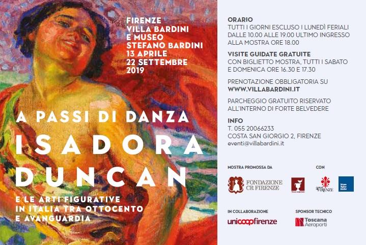 Mostra Isadora Duncan