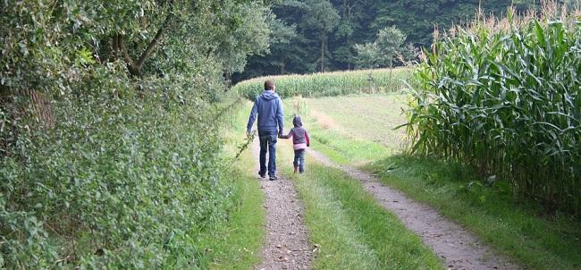 passeggiata famiglia