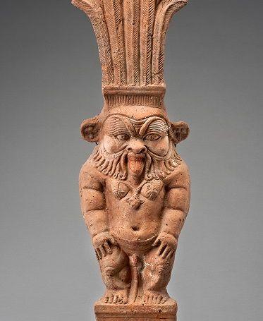 Statuetta del dio Bes - Egitto, II-III secolo d.C