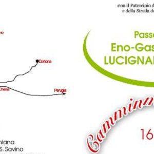 camminarMangiando Lucignano