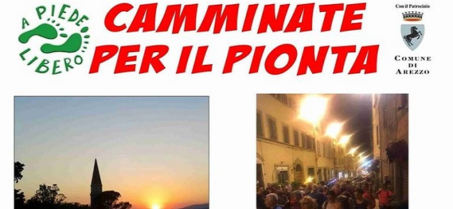 camminate per il pionta