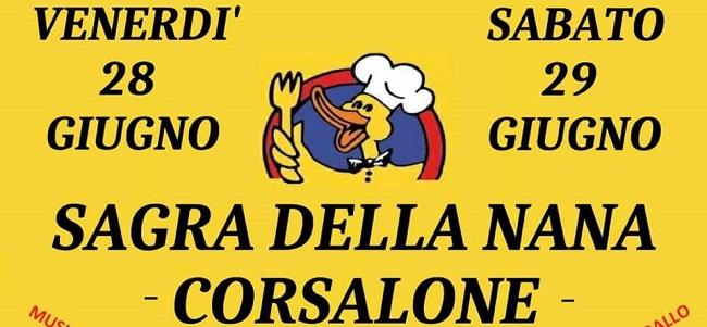 sagra nana corsalone