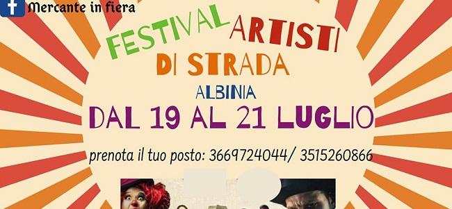 Festival artisti di strada Albinia