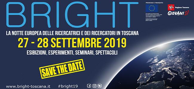 Bright2019 notte dei ricercatori in Toscana