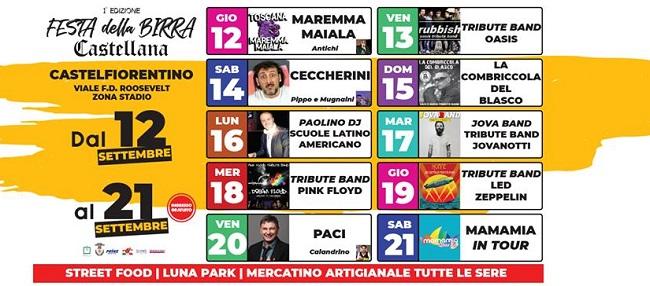Festa Della Birra Castellana Castelfiorentino Firenze