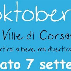 l'oktoberfest ville di corsano
