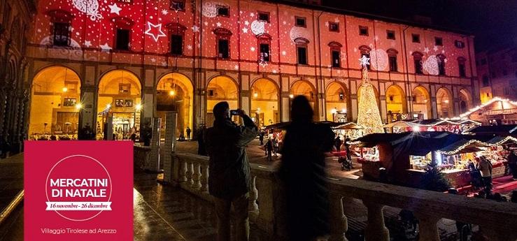 Mercatini di Natale – Centro storico, Arezzo