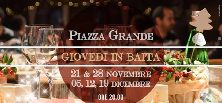 Cene in Baita – Piazza Grande, Arezzo