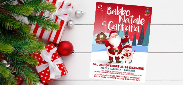 Babbo Natale a Carrara – Piazza Alberica, Carrara (Massa-Carrara)