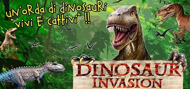 Dinosaur Invasion – Area Centro Sportivo Paganelli, Firenze