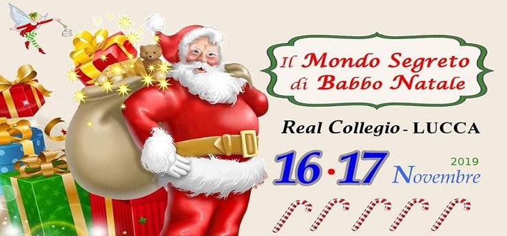 Il Mondo Segreto di Babbo Natale – Real Collegio, Lucca