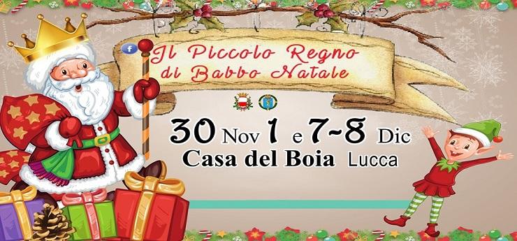 Il Piccolo Regno di Babbo Natale – Casa del Boia, Lucca