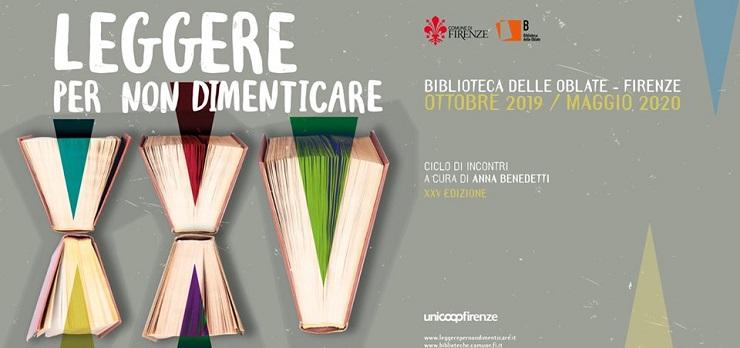 Leggere per non dimenticare – Bibioteca delle Oblate, Firenze