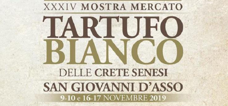 Mostra mercato del tartufo bianco delle Crete Senesi – San Giovanni d'Asso (Siena)