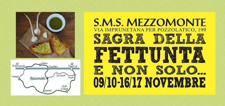 Sagra della fettunta e non solo – SMS Mezzomonte, Impruneta (Firenze)