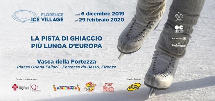 Florence Ice Village – Fortezza da Basso, Firenze
