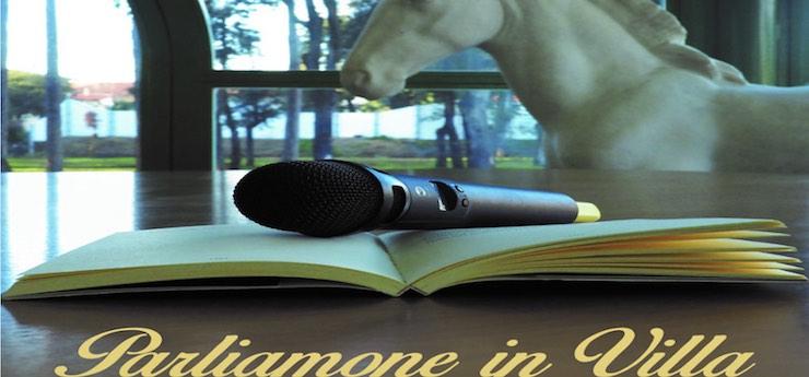 Parliamone in Villa. Talk show di attualità – Villa Bertelli, Forte dei Marmi (Lucca)