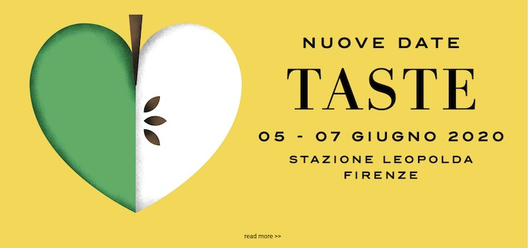 —nuove date— Taste – Stazione Leopolda, Firenze