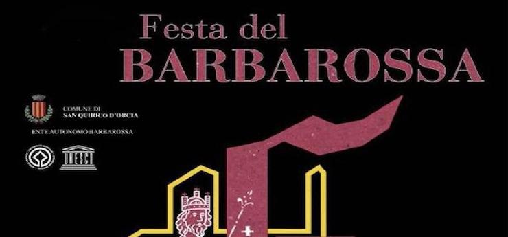 —rinviata— Festa del Barbarossa – San Quirico d'Orcia (Siena)