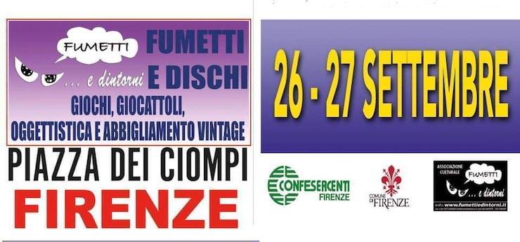 Fumetti, dischi e dintorni – Piazza dei Ciompi, Firenze