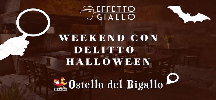 Effetto Giallo: weekend di Halloween con delitto in prima persona – Firenze