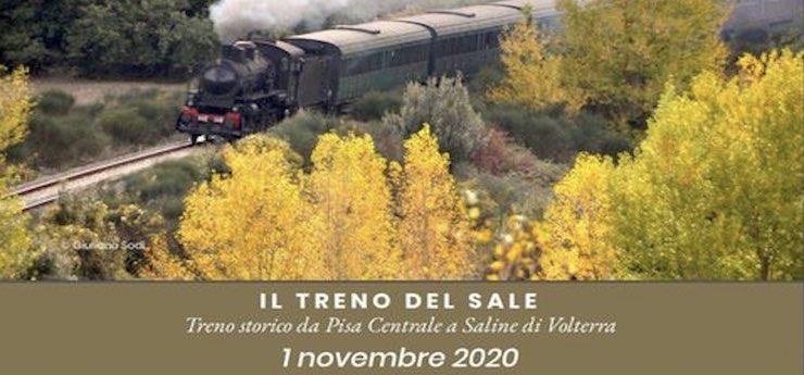 Treno del Sale. Treno a vapore – da Pisa e Livorno per Saline di Volterra