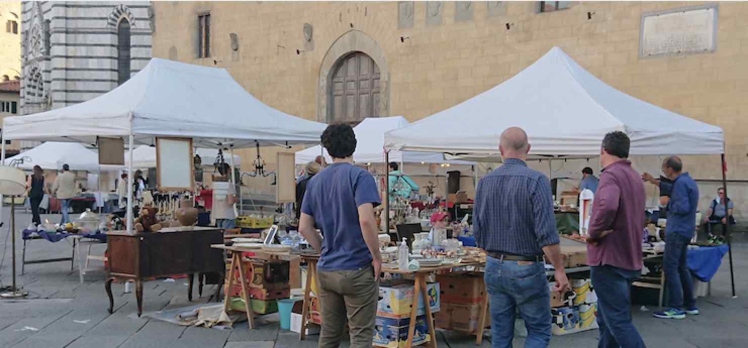 Mercato Antiquario – Piazza Duomo, Pistoia