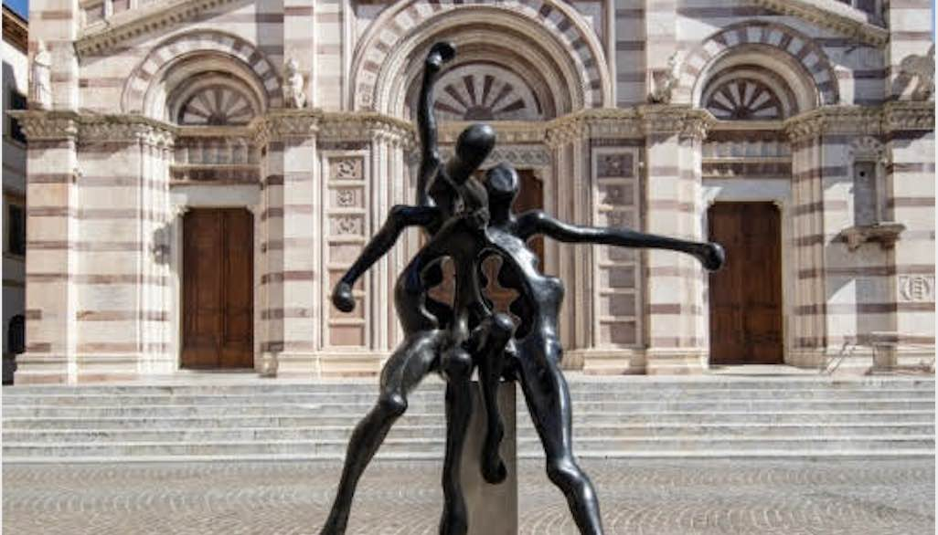 DINAMICA. Le sculture monumentali di Sauro Cavallini – Via e Piazza Dante Alighieri, Grosseto