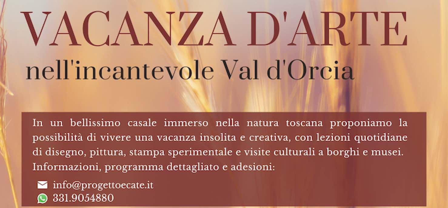 Vacanze d'arte in Val d'Orcia
