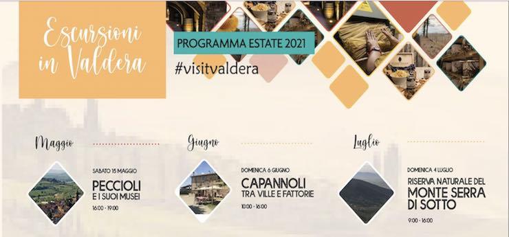 Escursioni in Valdera – vari luoghi in provincia di Pisa